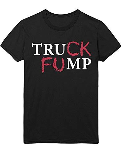 T-Shirt Donald Trump Truck FUMP D123459 Schwarz XL