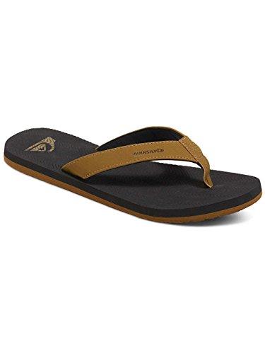 Quiksilver Herren Molokai Sipe Flip Flops Sandalen brown/black/brown
