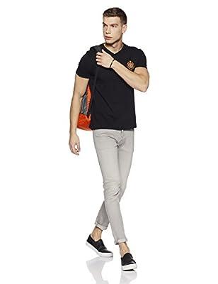 US Polo Association Men's Solid Regular Fit T-Shirt