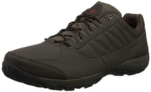 Columbia Ruckel Ridge, Zapatillas de Senderismo para Hombre, Marrón Cordovan, Rusty, 43 EU