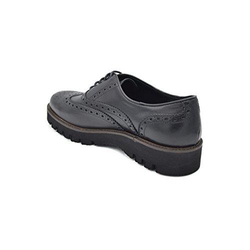Hombre De Drudd Negro Cordones Zapatos Eual070viaw1701 Con Ezqrxqtw