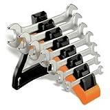 55/SP7Beta set di 7chiavi a doppia estremità aperta con supporto