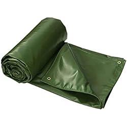 DLewiee Impermeable Tarp Fit para Todo Tipo de Clima o propósito Heavy Duty Poly Tarp Oblea a Prueba de Ojales para Acampar, Caza, Tienda de campaña, Pintura, toldo, Cubierta (Size : 4m*3m)