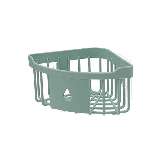 Kakiyi Badezimmer Küche Adhesive Wandhalterung Seifen Shampoo Lotion-Speicher-Fall-Ineinander greifen Design Gestell-Halter -