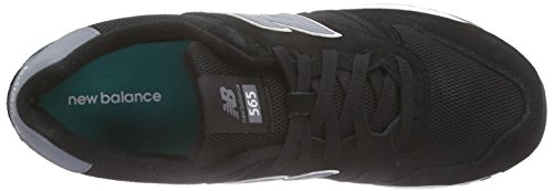 New Balance WL565V1, Baskets Basses Homme Noir (Black/Green/Grey)
