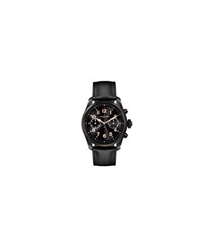 b52e4a2aac01 Reloj Montblanc Summit 2 Smartwatch 119438 Acero Negro Piel Negra