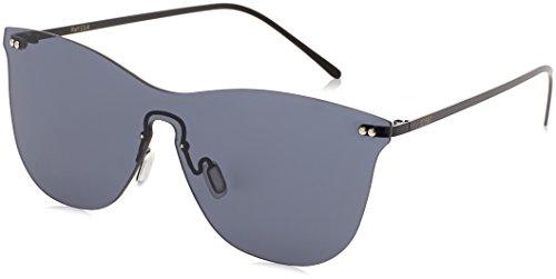 Ocean Eye, Montures de lunettes Mixte Adulte, Noir (Argento/Nero), 58