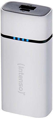Intenso Powerbank P5200 externes Ladegerät (5200mAh, für Smartphone/Tablet PC/MP3 Player/Digitalkamera) weiß