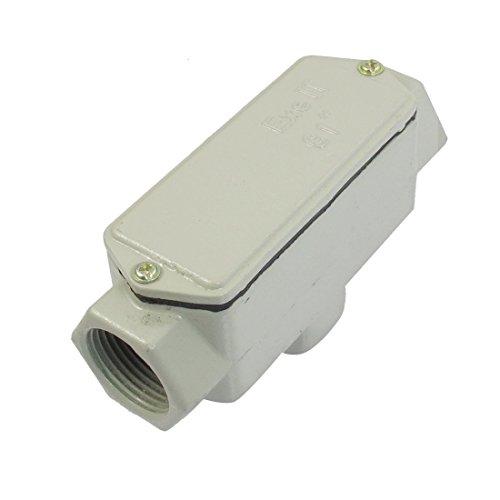 DealMux G1 '3-Hub-Anschluss T-Form-Metallabdeckung Explosionsgeschützte Conduit Outlet Box - Conduit Outlet Box