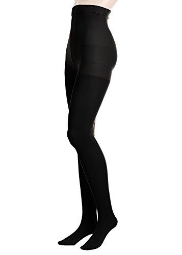 GLAMORY Damen Stützstrumpfhose Vital 70 DEN, Schwarz (Schwarz), XXX-Large (Herstellergröße: 3XL-(56-58))