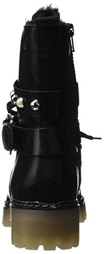 s.Oliver 26241, Stivali da Motociclista Donna Nero (Black Comb)