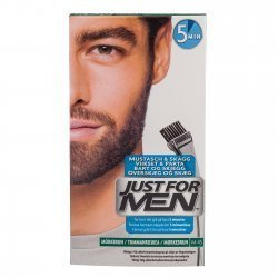 Just for men Brush-In Color Gel schwarzbraun, 28.4