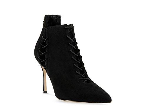 bootines-a-talon-et-lacets-sergio-rossi-en-daim-noir-code-modele-a71591-mcaz01-1000-taille-39-it-39-