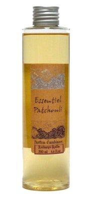 Provence et Nature: Patchouli Raumduft (Nachfüllflasche) für Raumbedufter mit Holzstäbchen, 200 ml -