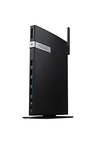 Preisvergleich Produktbild Asus Ebox E420-B018Z Mini Desktop PC (Intel Celeron 3865U,  4GB RAM,  128GB SSD,  Intel HD Graphics,  Windows 10 Pro) schwarz
