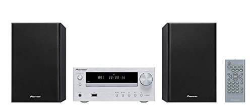 Pioneer X-HM 16-S CD Receiver System (15W pro Kanal, Front -USB-Anschluss) silber Home Stereo Receiver Pioneer