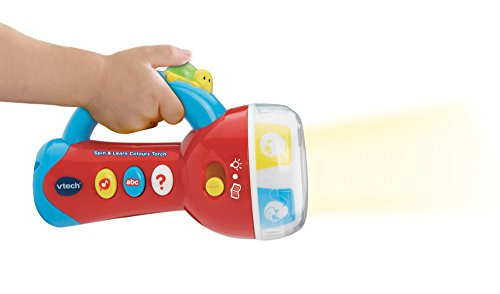 Image of VTech Baby Spin and Learn Colours Torch - Multi-Coloured