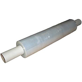 2 Heavy Duty Clear 34Micron Pallet Wrap Extended Core 400mm Stretch Shrinkwrap