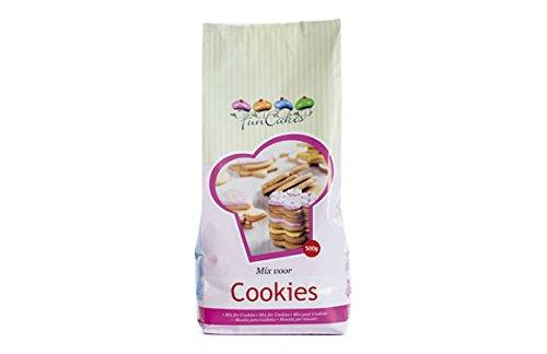 FunCakes Mix für Cookies 500g, Backmischung für Plätzchen, Kekse, Cookies