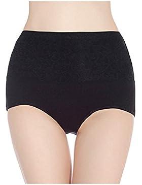 DYLH Braguitas algodon Faja Reductora braguitas moldeadora de cintura alta para mujer Bragas