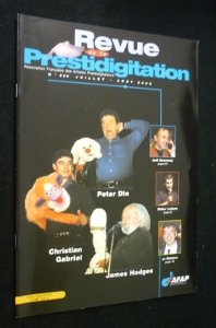 Revue de la prestidigitation, n° 530, juillet-août 2002 : Peter Din, Christian Gabriel, James Hodges