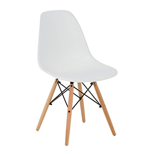 SKLUM Silla IMS Blanco Madera Natural - (Elige Color)