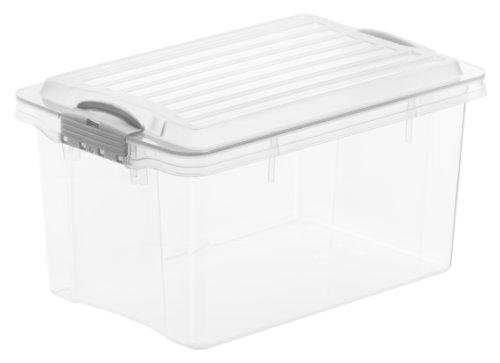 Hervorragend Aufbewahrungsbox Mit Deckel Kunststoff: Amazon.de CD58