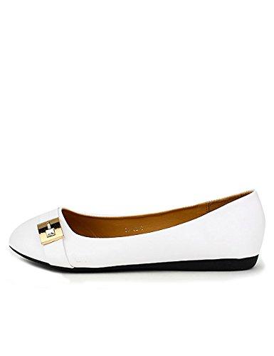 Cendriyon Ballerine Blanche ML Shoes Chaussures Femme