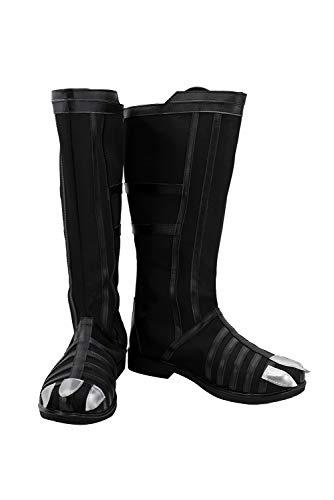 Captain Black Erwachsene Stiefel - Xiemushop Hohe Stiefel Schuhe-Movie Cosplay Shoes