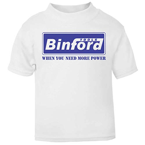 Binford Tools Home Improvement Baby and Toddler Short Sleeve T-Shirt