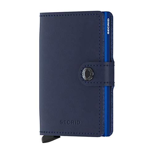 Portafogli secrid mini-wallets original colore blu navy