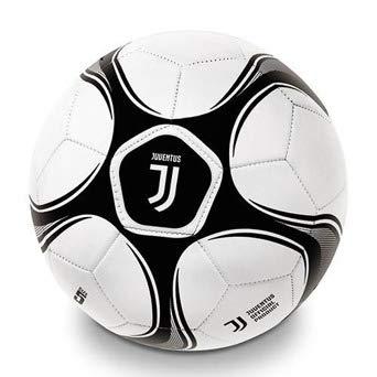 Mondo 13720 - Pallone di Cuoio da Calcio Juventus F.C. LOGO NUOVO 2018
