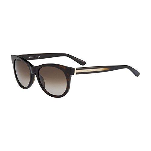 Hugo Boss Für Frau 0611 Tortoise / Brown Gradient Kunststoffgestell Sonnenbrillen
