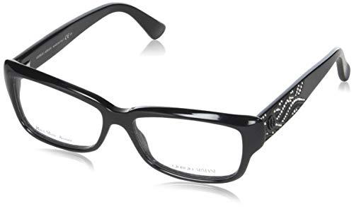 Giorgio Armani Unisex AR6032J Sonnenbrille, Schwarz (Black 300187), One size (Herstellergröße: 55)