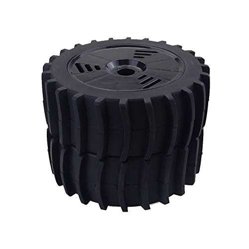 Adminitto88 4pcs Buggy Gummireifen 1/8 RC Off Road Buggy Schnee Sand Paddel Reifen Fernbedienung Rennwagen Rad Reifen Für HSP HPI (Und Paddel-reifen Felgen)
