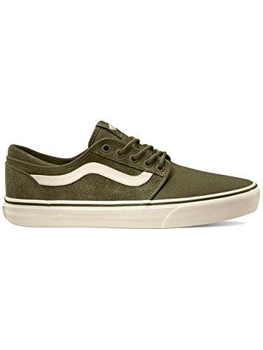 Vans - chaussures (suede canvas) green