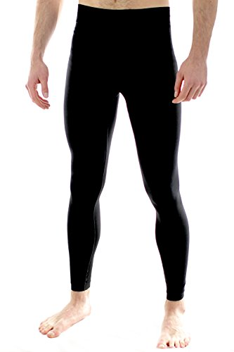 Herren Performance Trainingsleggings fürs Fitness-Studio Yoga Sport von Sundried (Medium)