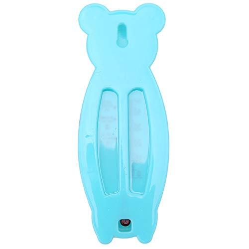 Tianzhiyi Babyprodukt Baby Badethermometer Wasser Thermometer, Baby Sicherheits Netter Bärn-Suspendierungs Badethermometer Wassertemperatur Meter (Color : Blau) -