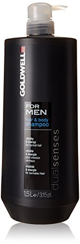 Goldwell Dualsenses for Men Hair und Body Shampoo, 1er Pack, (1x 1500 ml)