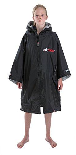 Schwarze Lange Gewand Tasche (Dryrobe Advance - Wassersport Umkleidemantel (Klein, Schwarzgrau))