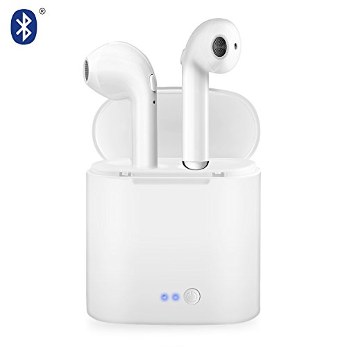 Wireless Bluetooth Headset V4.2 In-Ear-Stereo-Headset mit Ladebox Kompatibel mit den Meisten Marken-Smartphones