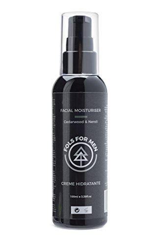 Fols crema idratante viso per uomo, pelle secca e sensibile, con ingredienti biologici: preparati a tornare indietro nel tempo! 100ml