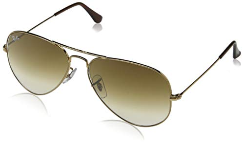 Neue Authentic RAY BAN Ray-Ban Aviator Sonnenbrillen RB 3025 001/51 Gold 58mm (Aviator Ray-ban Classic Gold)