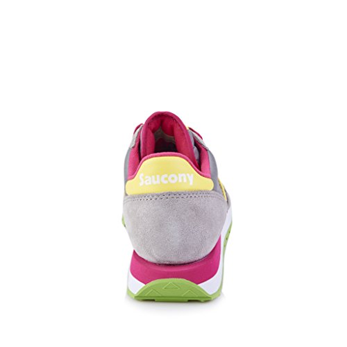 Originali Camoscio Bassa Femmes Saucony Jazz Grigia Sneaker vRUEUqwx