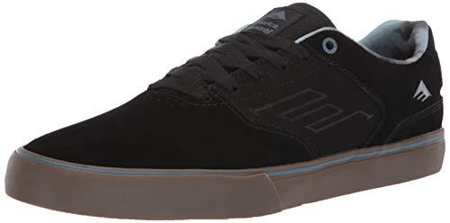 Emerica Herren The Reynolds Low Vulc, Black/Gum/Grey, 43 EU M