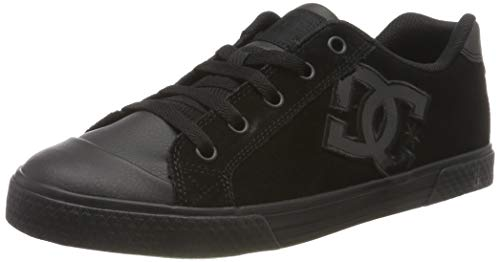 DC Shoes Damen Chelsea Se - Low-top Shoes for Women Sneaker, Schwarz (Black/black/black), 37 EU -