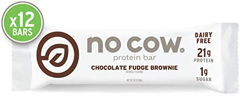D's Naturals No Cow Bars - Pack of 12 (Chocolate Fudge Brownie) -