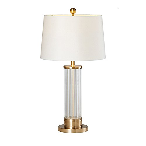 Moderne Metall-basis (Moderne Glasstäbe Tischleuchte kreative Metall Basis Kunst Schlafzimmer Licht weiß)