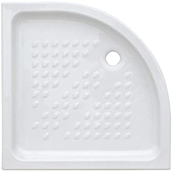 Piatto Doccia Semicircolare 70x70 In Ceramica