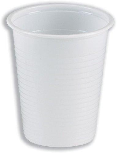 Vow eurpoe dvppwhcu01000Budget Trinkbecher, weiß (1000Stück)